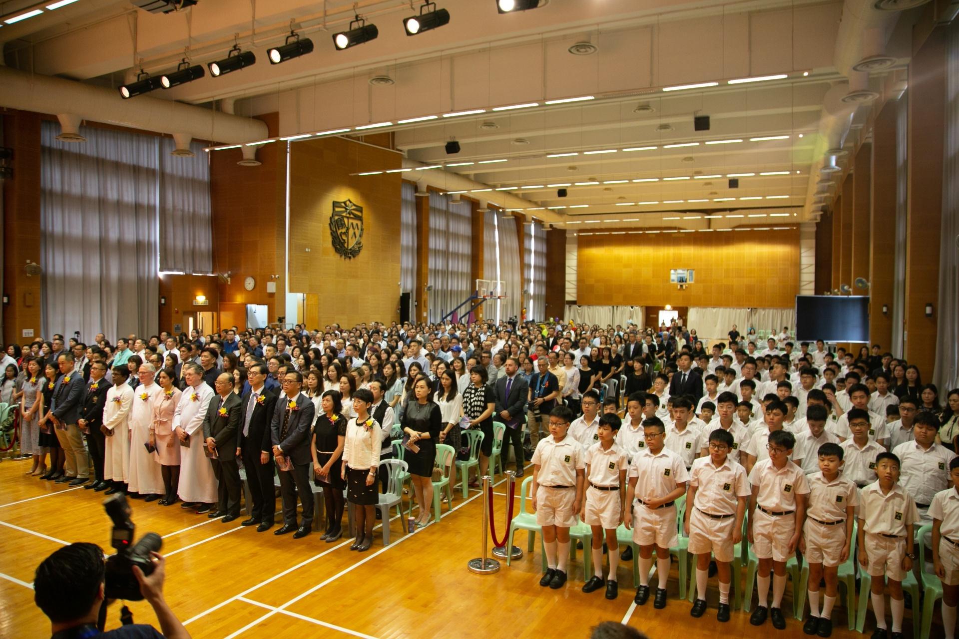 該校提倡愛主、愛己、愛人的「喇沙精神」,拒絕轉為自資學校